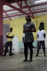 oficina de interpretação de São Tomé